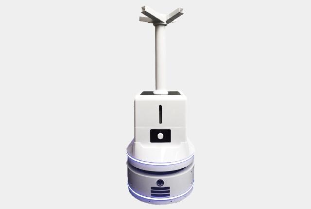 噴霧式消毒ロボット SDBO-01